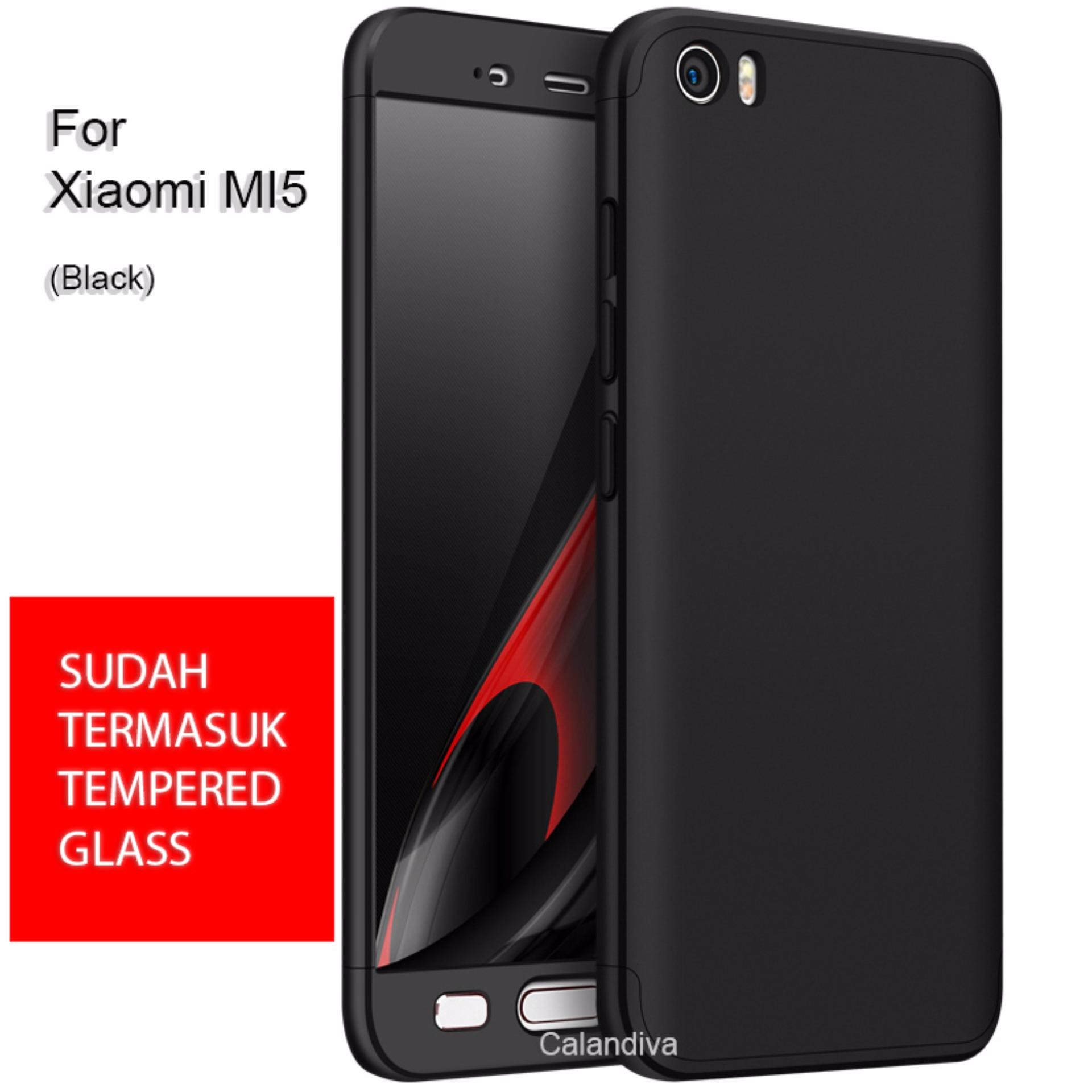 Calandiva Premium Front Back 360 Degree Full Protection Case With Samsung Galaxy A6 Plus 2018 60 Inch Tg Merah For Xiaomi Mi 5