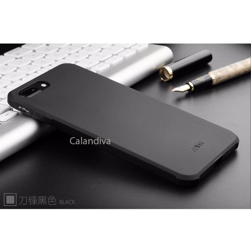 Calandiva Transparent Shockproof Hybrid Case For Iphone 7 Plus 55 Dragon 6 6s Inch Hitam