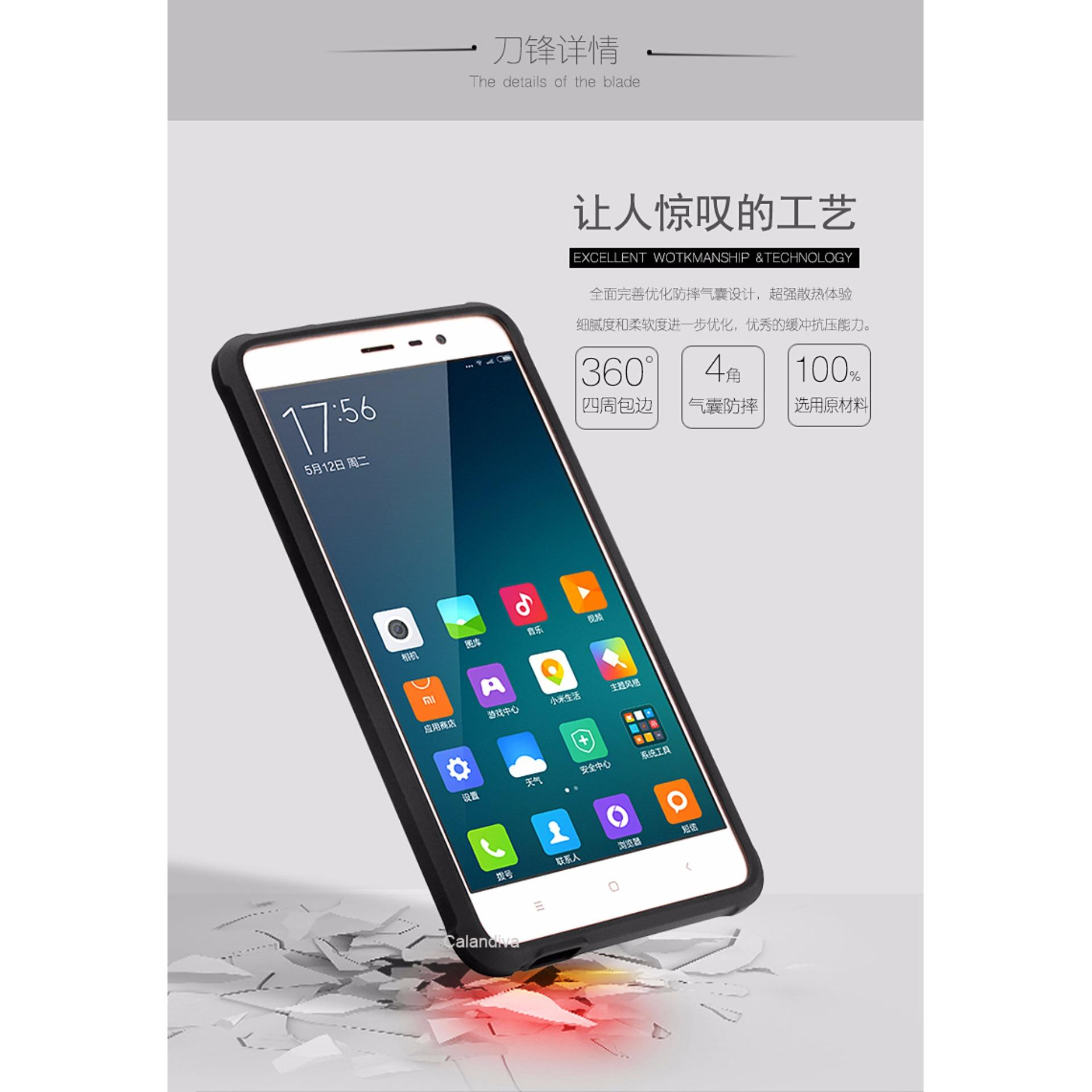 Calandiva Shockproof Hybrid Case for Xiaomi Redmi Note 3 / Pro versi Kenzo .