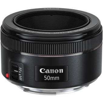 Canon EF 50mm f/1.8 STM Lens - Hitam