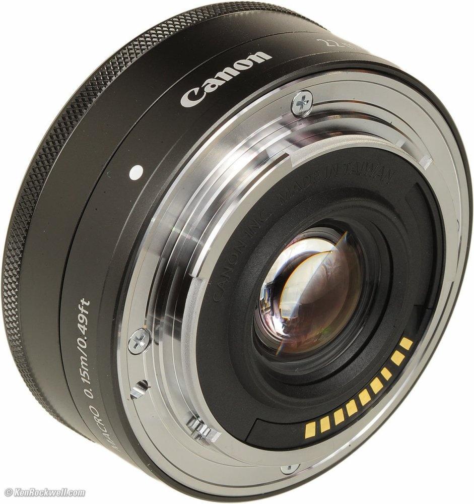 ... Canon EF-M 22mm f/2.0 STM - Hitam ...
