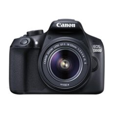 Canon EOS 1300D Kit (EF S18-55 IS II) - Hitam