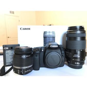 Canon EOS 70D 20.2MP Digital SLR Camera - Black (Kit w/ EF-S IS STM 18-135mm Lens)