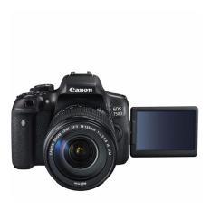 Canon EOS 750D - 24MP - Kit 18-55mm IS STM - Hitam