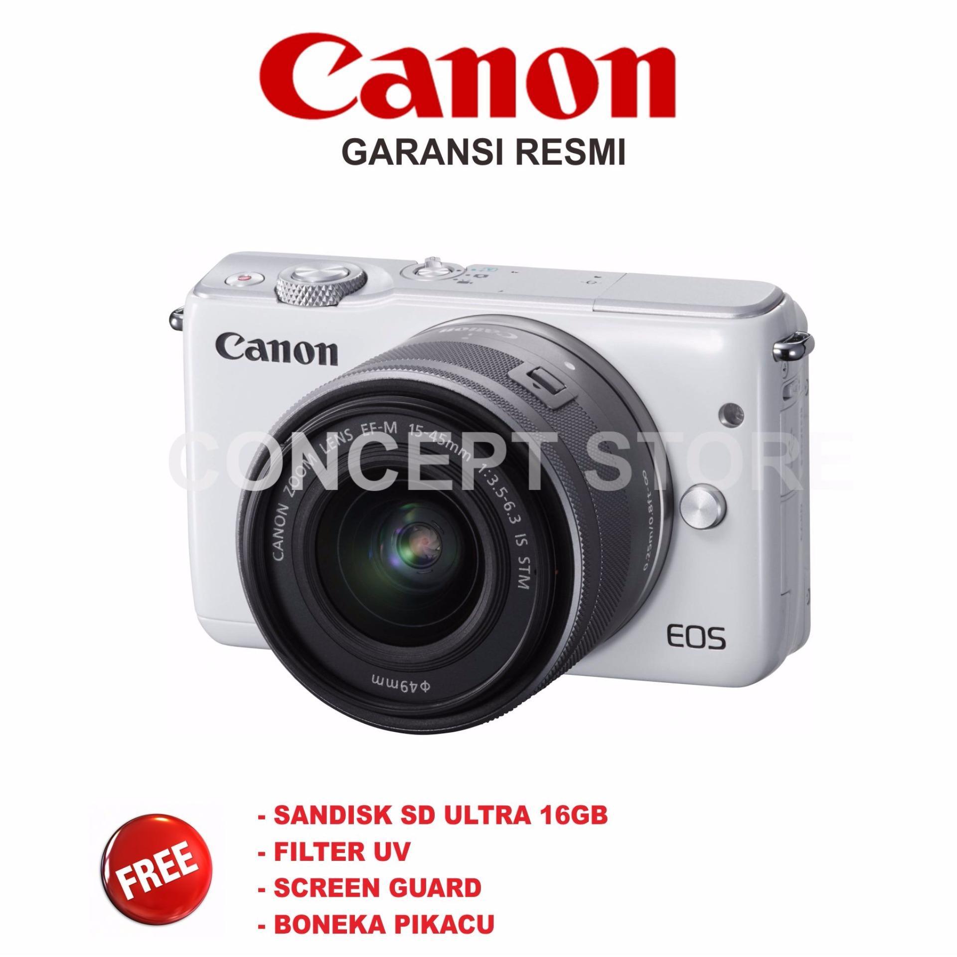 CANON EOS M 10 KIT 15-45 / M10KIT / M10 WHITE PIKACU