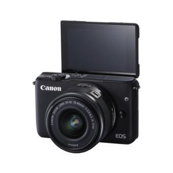 Canon EOS M10 Kit EF-M 15-45mm IS STM Kamera Mirrorless - Hitam