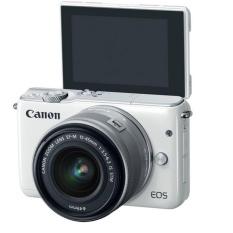 Canon EOS M10 KIT With Lens EF-M15-45mm Putih RESMI PT DATASCRIPT