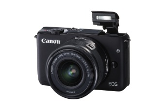 Canon EOS M3 Kit EF-M15-45 IS STM Hitam