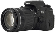 Canon Kamera DSLR EOS 760D Kit 18-135mm IS STM + Free LCD Screen Guard