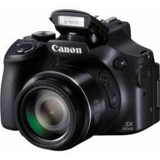 Canon PowerShot SX60 - 16.1 MP - 65x Optical Zoom - Hitam