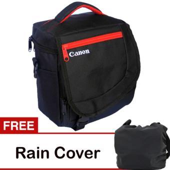 Canon Tas Kamera Selempang Kotak Gratis Jas Hujan (Rain Cover) Kode K 2