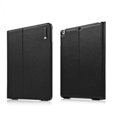 Capdase Folio Dot Flip Leather Case / Cover for Apple iPad Air - Hitam