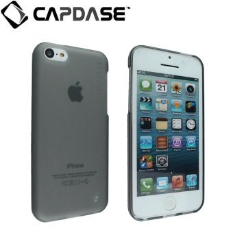 Capdase Soft Jacket Xpose Case for for Apple iPhone 5C - Tinted Hitam