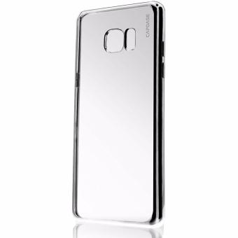 Capdase Verge Jacket Softcase Casing for Samsung Fan Edition Note 7 - Silver