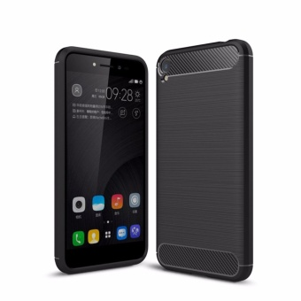 Carbon Rugged Armor Cover Case for Asus Zenfone Live ZB501KL - intl