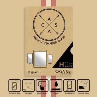CASA Tempered Glass for Huawei Honor 3C - Clear 0.3mm