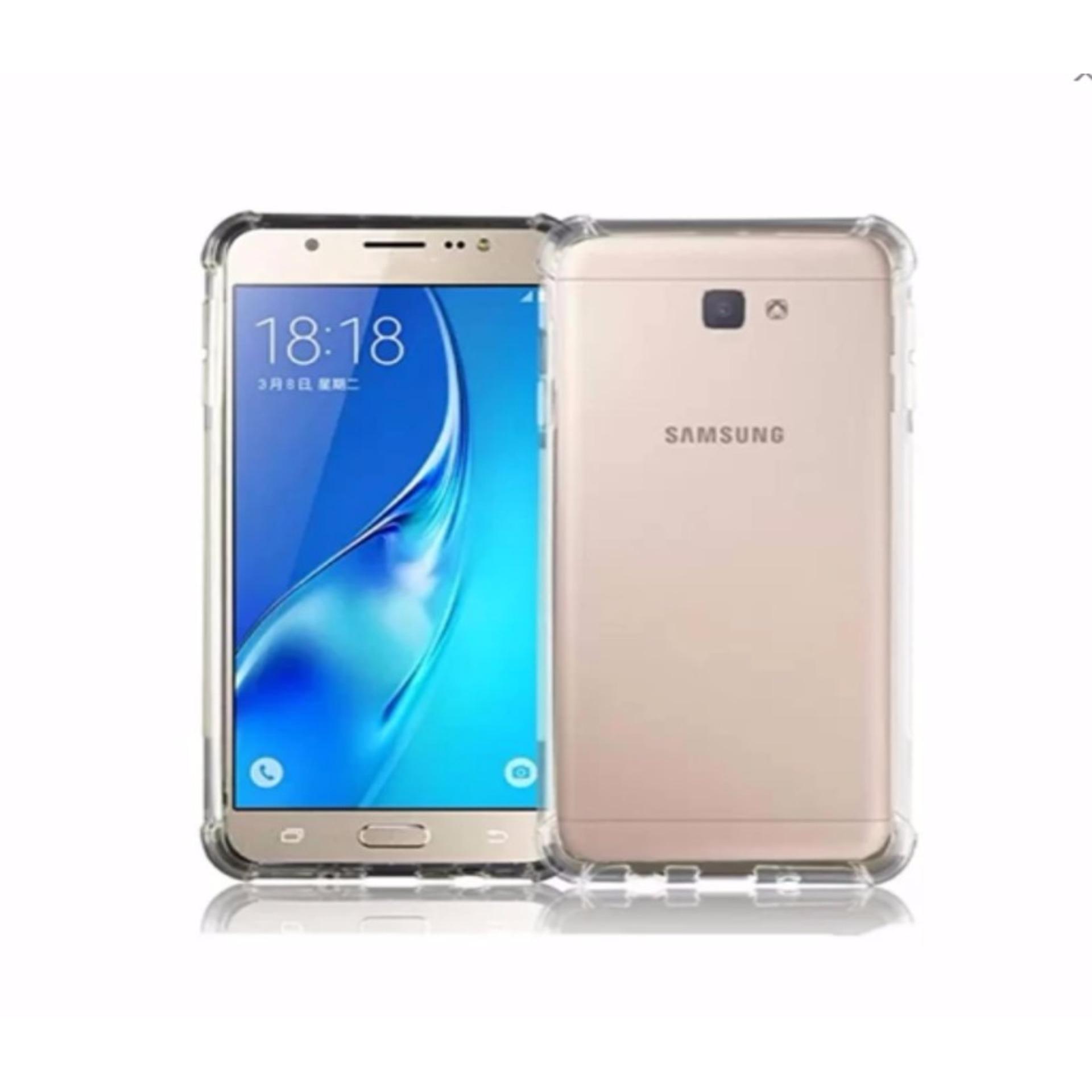 Case Anti-Crack for Samsung Galaxy A5 2017 TPU Softcase (Clear .