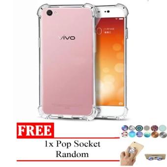Case Anti Shock / Anti Crack Elegant Softcase Anti Benturan for Vivo Y69 - Clear FREE