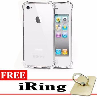 Case Anti Shock Anti Crack Elegant Softcase for Apple iPhone 4 4S 4G