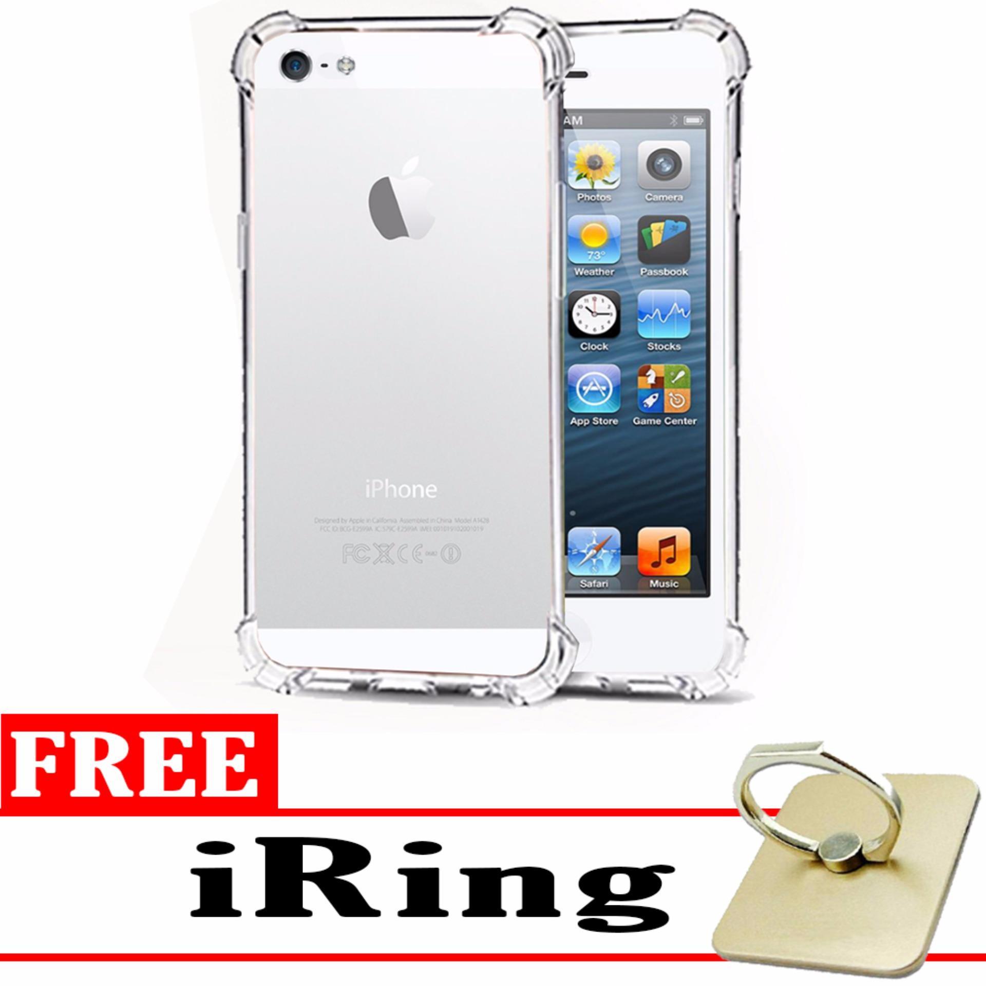 Case Anti Shock / Anti Crack Elegant Softcase for Apple iPhone 5 / 5s / 5G