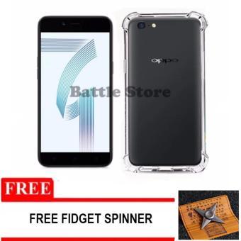 Case Anti Shock / Anti Crack Elegant Softcase for For Oppo A71 + Free Fidget Spinner