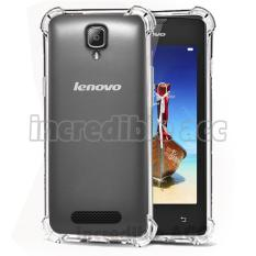 Case Anti Shock / Anti Crack Elegant Softcase  for Lenovo A1000 / A2800 - White Clear