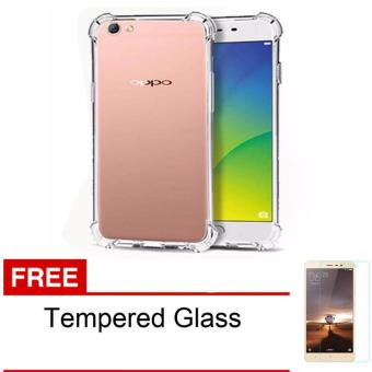 Case Anti Shock / Anti Crack Elegant Softcase for Oppo F3 / A77 -Clear +