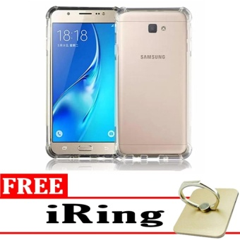 Case Anti Shock / Anti Crack Elegant Softcase for Samsung Galaxy J7 Prime - Clear +