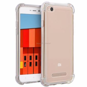 BELI SEKARANG Case Anti Shock Anti Crack Elegant Softcase for Xiaomi Redmi 4A - White Clear Klik di sini !!!