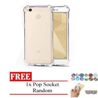 Case Anti Shock / Anti Crack Elegant Softcase for Xiaomi Redmi Note 5A - Free Pop