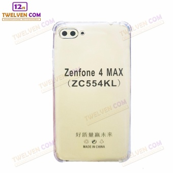 Case Anti Shock Anti Crack Softcase Casing for Asus Zenfone 4 Max ZC554KL - Clear