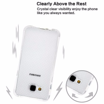... Case Anti Shock Anti Crack Softcase Casing for Oppo A57 - Clear - 3