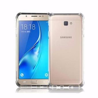Case Anti Shock Anti Crack Softcase Casing for Samsung Galaxy C9 / C9 Pro - Clear