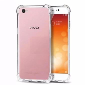 Case Anti Shock Anti Crack Softcase Casing for Vivo Y55 - Clear