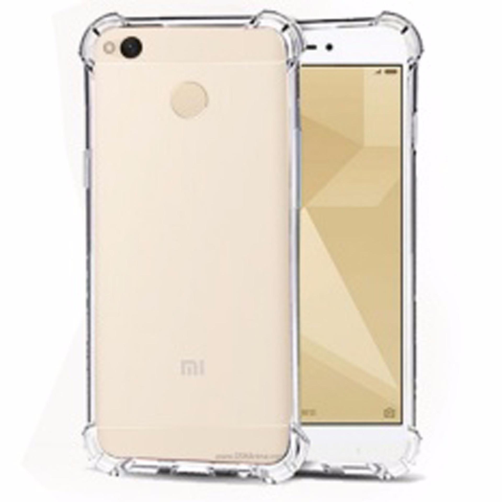 Case Anti Shock Anti Crack Softcase Casing for Xiaomi Redmi 4x - Clear