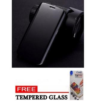 Case Chanel Executive Samsung J7 Prime Flipcase Flip Mirror Cover S View Transparan Auto Lock Casing