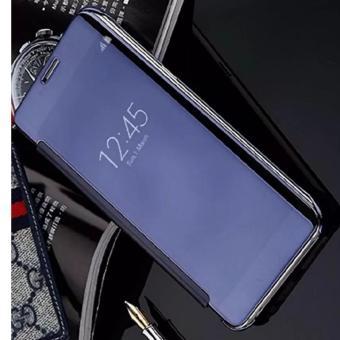 Case Chanel Executive Samsung J7 Prime Flipcase Flip Mirror Cover SView Transparan Auto .