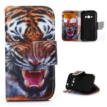 Fitur Smile Flip Cover Case Samsung Galaxy J1 Ace Ungu Dan Harga