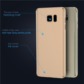 Case for Samsung Galaxy Note 5 Ultra-thin Hard PC Full Body .
