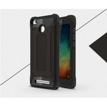 Case For Xiaomi Redmi 3s / Redmi 3 Pro / Redmi 3X Slim Armor Series 2 Layer - Hitam