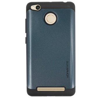 Case For Xiaomi Redmi 3s / Redmi 3 Pro / Redmi 3X Slim Armor Series2 Layer - Biru Navi