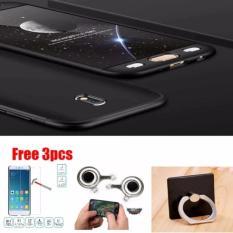 Case Hardcase Fullhardcase 360 Samsung Galaxy J7 Pro free Tempered Glass Joystick+Iring