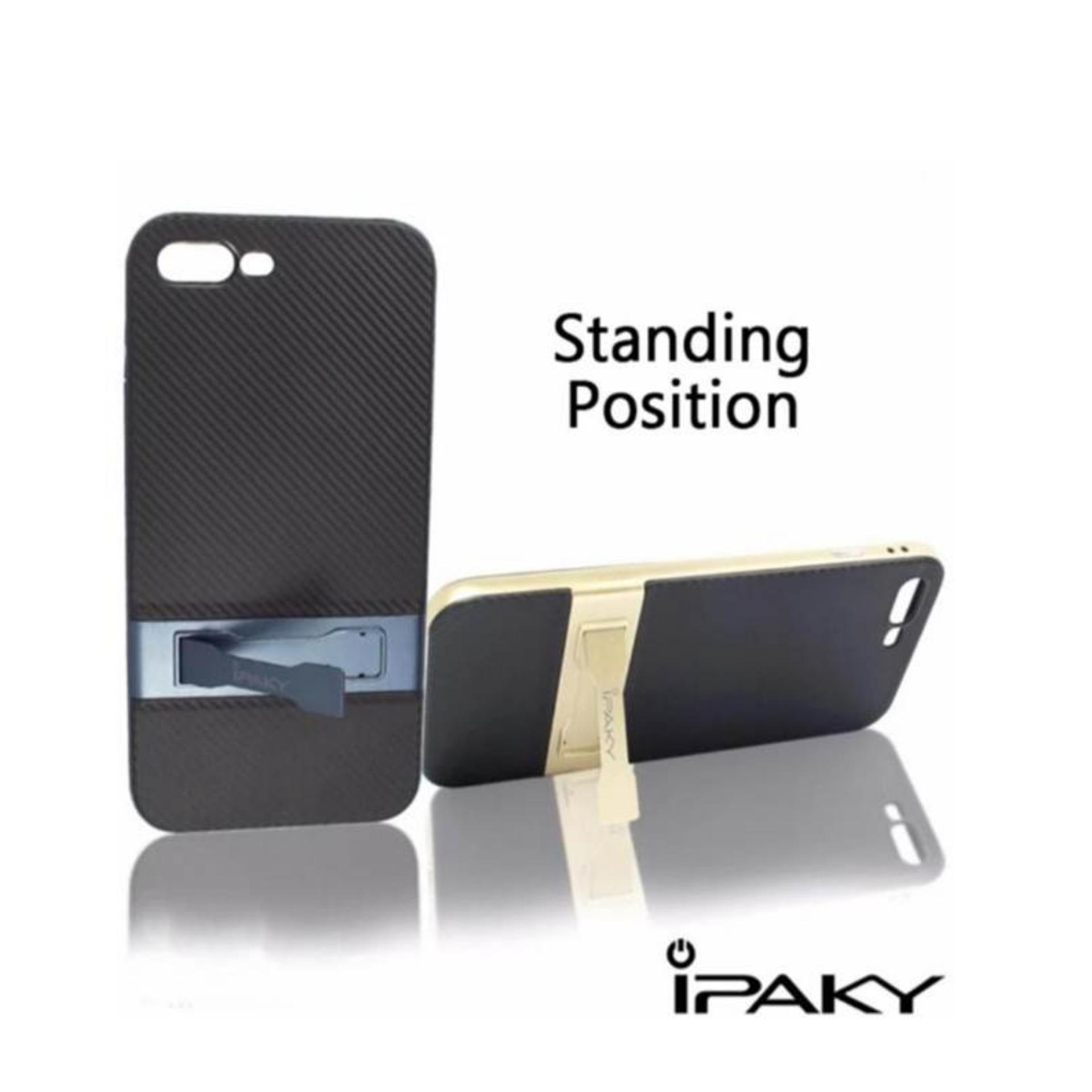 Case Ipaky Standing with Kick Stand Shockproof Dual Layer Back CaseCover for Samsung .