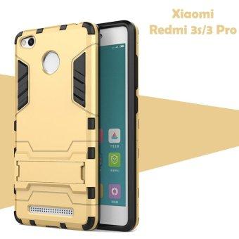 Gambar Case Iron Man for Xiaomi Redmi 3S Prime Robot Transformer IronmanLimited Emas