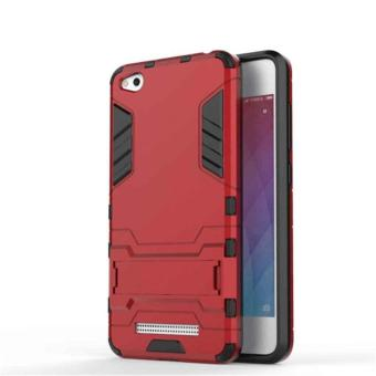 Case Iron Man for Xiaomi Redmi 4A Robot Transformer Ironman Limited – Merah