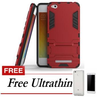 Case Kickstand Hybrid Armor Iron Man PC+TPU Back Cover Case forXiaomi Redmi 4X -