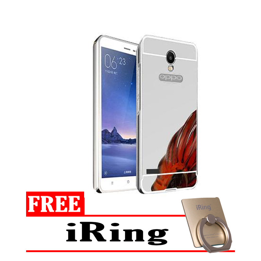A11 Bumper Slide Mirror Rose Gold Free Tempered Source · Gold Tempered Glass .