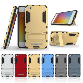 Case Ori Iron Man for Oppo A57 Robot Transformer Ironman Limited - Blue