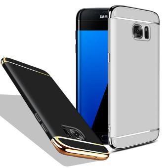 Case SAMSUNG S7 EDGE - 3 in 1 Plated PC Frame Bumper with Frosted Hard Back Case