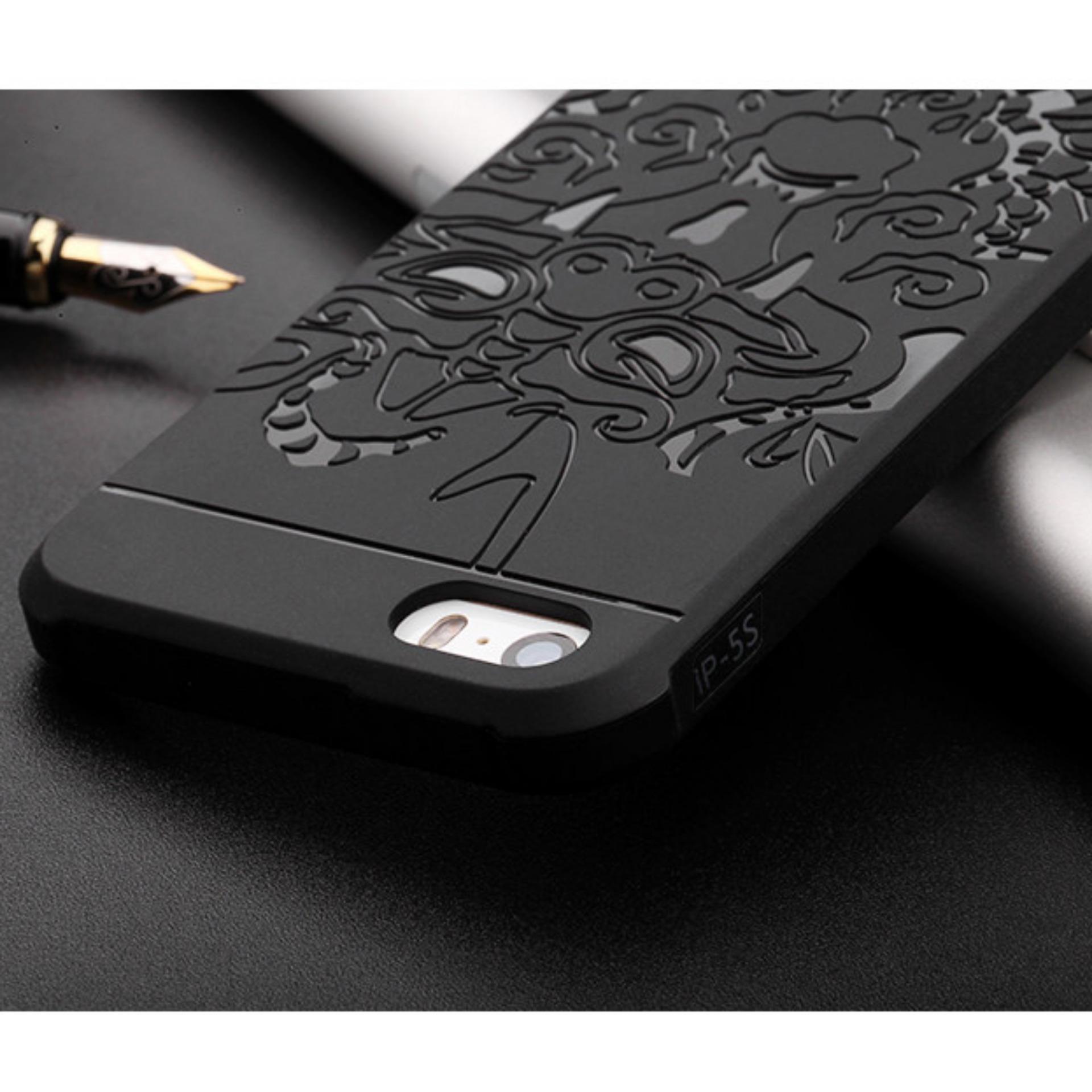 Case TPU Dragon Back Cover Silikon Original for Apple iPhone 5 / 5s .